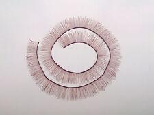 8*200mm brown eyelashes for BJD dolls