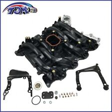 New Intake Manifold w/ Thermostat & Gaskets Kit For Ford Lincoln Mercury 4.6L V8