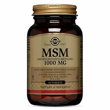 Solgar MSM Tablets 1000 mg 60 Count