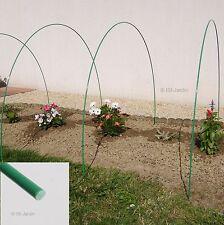 Lot de 10 Arceaux en Fibre de Verre et Polyester, longueur 2,50m, diamètre 6mm