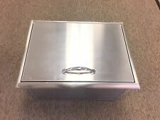 NEW 22x17 BBQ ISLAND STAINLESS STEEL DROP IN ICE CHEST/COOLER w/drain  CLOSE OUT