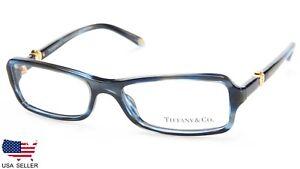 NEW TIFFANY & Co. TF 2061 8113 OCEAN BLUE EYEGLASSES FRAME 52-16-135 B28mm Italy