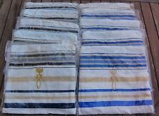"Messianic Tallit (Talit) Prayer Shawl, 72"" x 22"" (180 cm x 55 cm), with Bag"