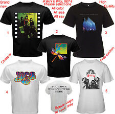 Genesis & Yes band Album Concert Tour T-shirt All Size S,M,L~5XL,Kids,Baby