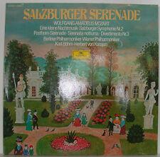 Mozart Salzburg Serenade A Little Night Music... Böhm Karajan Do-LP FOC f317