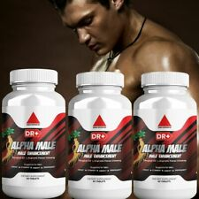 Alpha Male Testosterone Booster for Men Maca Root, Tongkat Ali, Panax Ginseng