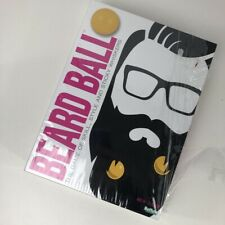 Buffalo Games Beard Ball The Party Game of Skill Style and Sticky Whisker New M*