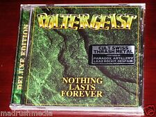 Poltergeist: Nothing Lasts Forever CD 2015 Bonus Tracks Divebomb USA DIVE081 NEW