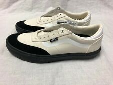 VANS GILBERT CROCKETT WHITE BLACK SIZES 7-12 SUEDE ULTRACUSH DURACAP SKATE SHOE