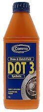 Comma BF1L Dot 3 Synthetic Brake Fluid 1 Litre