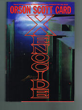 Xenocide by Orson Scott Card (1991, Hardcover 1st Printing)  INSCRIBED