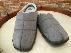 Clarks Cloudsteppers Grey Jersey Slipper Mule Step Rest Clogs 10 Sale