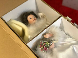 "Ashton Drake, ""Winter Romance"" Bride, Porcelain, Wedding, Doll by Sandra Bilotto"