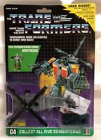 TRANSFORMERS G1 DECEPTICON COMBATICON VORTEX MOSC! US SELLER VERY RARE!