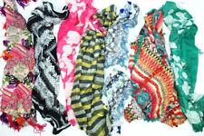 7-er Set Schals * Loop Schals * Bunte Schals * Karos * Blumen Muster