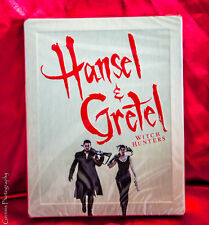 Hansel and Gretel 3D + 2D Limited Edition Steelbook (Blu-ray) Region Free *