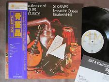 STRAWBS Just a Collection of Antiques& JAPAN LP w/Obi+Insert AMP-4030 R.Wakeman