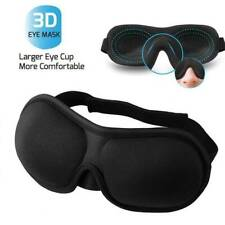 3D Travel Sleep Eye Cover Eyepatch Memory Foam Padded Shade Sleeping Blindfold