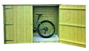 Wooden Garden Bike Store/Shed