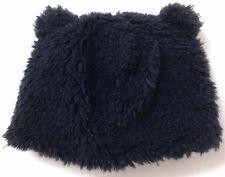 Toddler Boy/Girl 12-24 month CRITTER BEAR BEANIE w/ EARS Winter Hat Fuzzy PLUSH