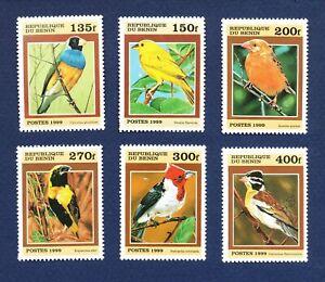 BENIN - # 1120-1125 - VF MNH see note -- Birds - 1999