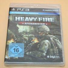 Heavy Fire: Afghanistan - PlayStation 3 / PS3 - NEU Sealed - WATA / VGA Ready