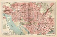 B0335 U.S.A. - Washington - Carta geografica d'epoca - 1903 Vintage map