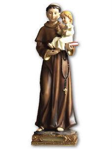 St Anthony Statue 20cm Resin
