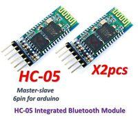2pcs HC-05 Integrated Bluetooth Module Wireless Serial Port Module HC05
