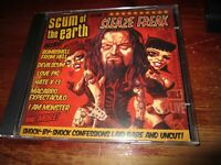 Scum Of The Earth - Sleaze Freak CD WITH DVD 2007 ECLIPSE RECORDS ROB ZOMBIE