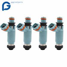 4x  440cc Light Blue Fuel Injectors Feed For  2002-2005 Subaru WRX USPS