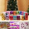 24PCS Shatterproof Christmas Tree Baubles Decorations, Multi packs 3/4/6cm