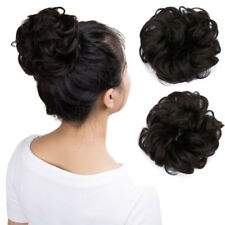Hair Extensions Hair Piece Clip in Hair Bun Ponytail Scrunchie Drawstring P99
