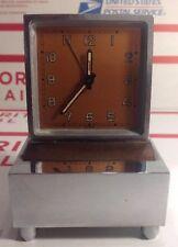 EXC Rare Vintage Swiss Angelus Music Alarm Clock Lador Music Box NEEDS SERVICE