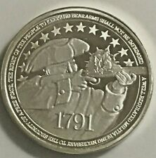 SilverTowne: 1 ounce 2nd Amendment .999 Fine Silver Round Brilliant Uncirculated