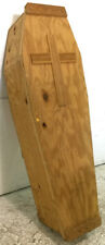 Full-size Homemade Plywood Coffin Lot 2010