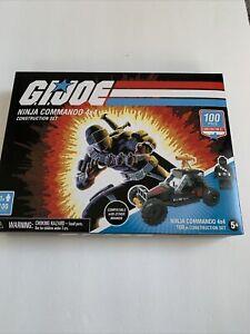 Hasbro G.I. Joe Ninja Commando Construction Set - 100 Piece Brand New In Box