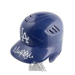 Walker Buehler Autographed Dodgers Authentic Baseball Batting Helmet JSA COA