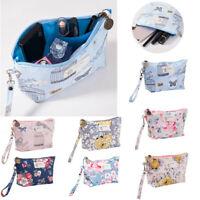 Cosmetic Storage Bag Printing Ladies Portable Clutch Waterproof Travel Wash Bag