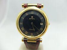 Orologio BREIL Botticelli 90135 UOMO Placcato ORO Quarzo Nuovo 148VV16