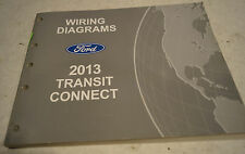 2013 Ford Transit Connect OEM Electrical Wiring Diagrams Service Manual 40540