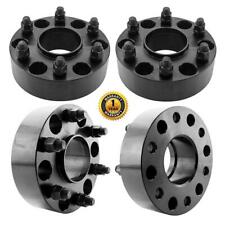 """4pc  2"""" 6x5.5 Hub Centric 14x1.5 Wheel Spacer Adapters For Chevy GMC Sierra 1500"""