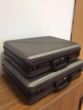 2 Diplomatenkoffer, Koffer, Aktenkoffer, schwarz