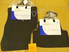 Genuine VW MK7 Golf RHD - All Weather Rubber Front & Rear Floor Mats with Logo