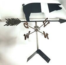 Weather Vane Hampshire Hog Outdoors Handmade Pig Primitive Folk Ornaments