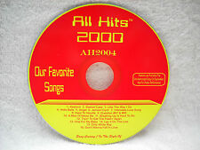**ALL HITS MAXX PACK KARAOKE CDG DISC AH2004-BRAND NEW ORIGINAL DISC*