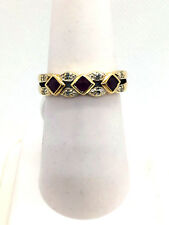 10k Solid Gold Genuine Ruby Ring