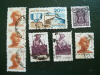 N°151 - 8 timbres années 60 INDE