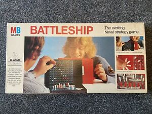 Vintage Retro Battleship Board Game 1975 by MB Games Naval Strategy Complete