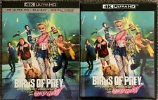 BIRDS OF PREY HARLEY QUINN 4K ULTRA HD BLU RAY 2 DISC SET + SLIPCOVER SLEEVE BUY